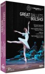 GREAT BALLETS FROM THE BOLSHOI / 4 DVD