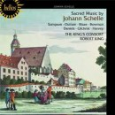 SACRED MUSIC BY JOHANN SCHELLE / THE KING'S CONSORT